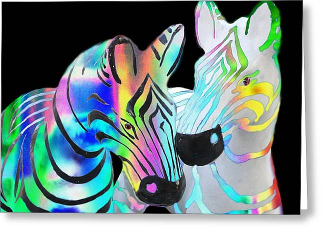 Hallucination Greeting Cards - Trippin Zs Greeting Card by Gregory Smith
