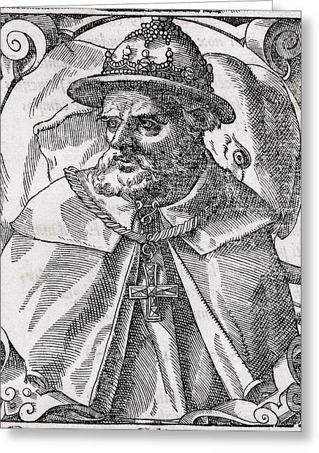 European work Photographs Greeting Cards - Tristao Da Cunha, Portuguese Explorer Greeting Card by Middle Temple Library
