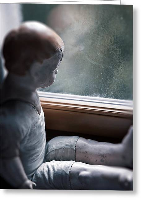 Doll Photographs Greeting Cards - Tristesse Greeting Card by Joana Kruse