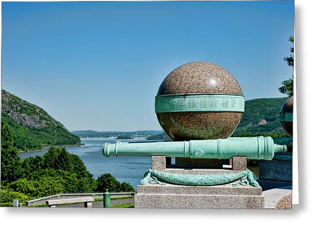 West Point Greeting Cards - Trophy Point Greeting Card by Dan McManus
