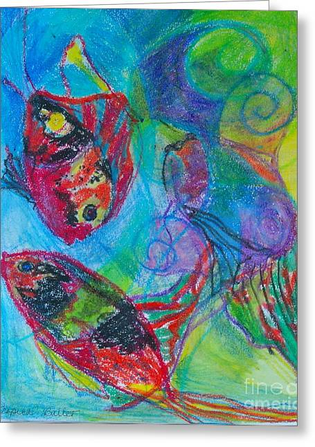 Claudia Smaletz Greeting Cards - Tropical Ballet II Greeting Card by Claudia Smaletz