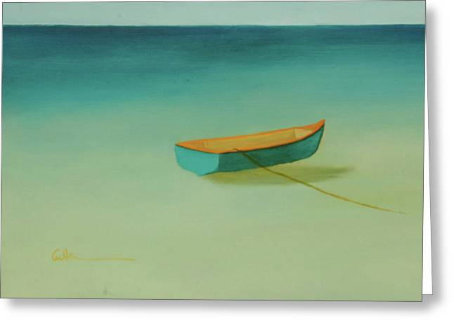 Diane Cutter Greeting Cards - Tropical Calm Greeting Card by Diane Cutter