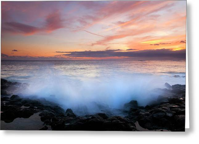 Kauai Greeting Cards - Tropical Explosion Greeting Card by Mike  Dawson