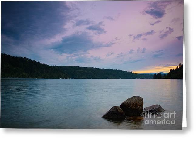Scenic Idaho Greeting Cards - Tropical Illusion Greeting Card by Idaho Scenic Images Linda Lantzy