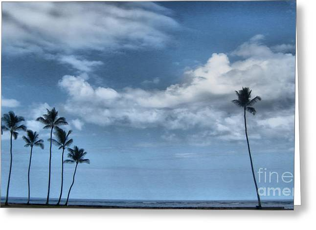 Deli Greeting Cards - Tropical Mood Greeting Card by Cheryl Young