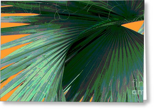 Tropical Photographs Photographs Greeting Cards - Tropical Palm Grand Cayman Greeting Card by Ann Powell