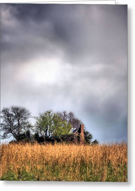 Fauquier County Greeting Cards - Trouble Brewing II Greeting Card by JC Findley