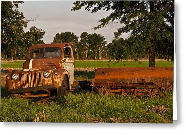 Lawrence County Greeting Cards - Truck and Tank 31 Greeting Card by Douglas Barnett
