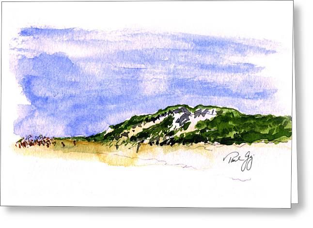 Truro Greeting Cards - Truro Beach Cape Cod Greeting Card by Paul Gaj