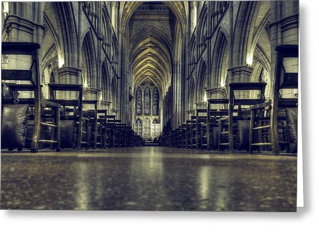 Truro Greeting Cards - Truro Cathedral Greeting Card by James Ingham