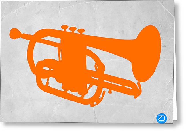 Vintage Radio Greeting Cards - Tuba  Greeting Card by Naxart Studio