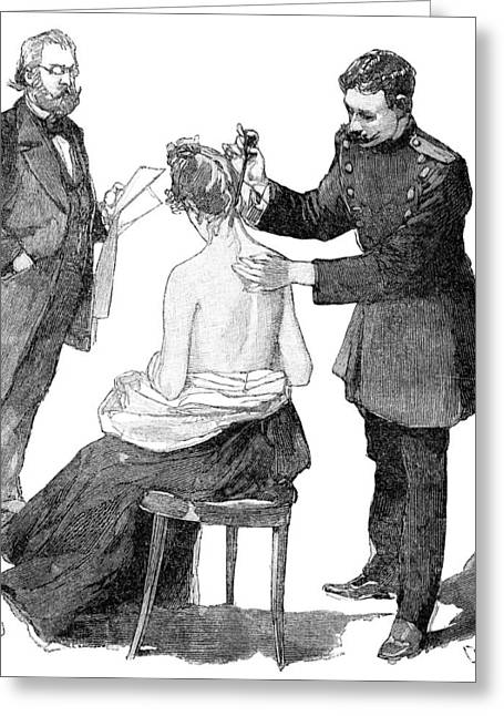 Annual Volume Greeting Cards - Tuberculosis Research, 19th Century Greeting Card by