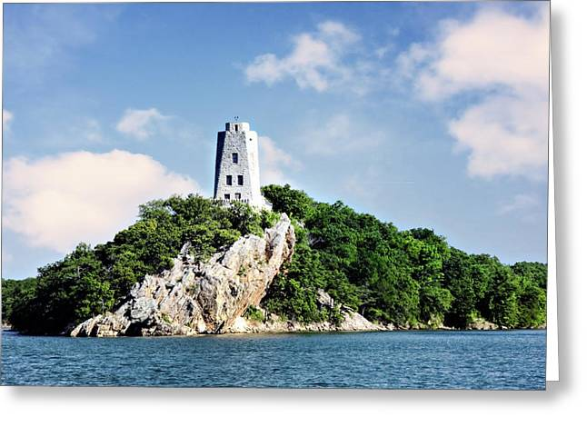 Nature Center Photographs Greeting Cards - Tucker Tower 2 Greeting Card by Lana Trussell
