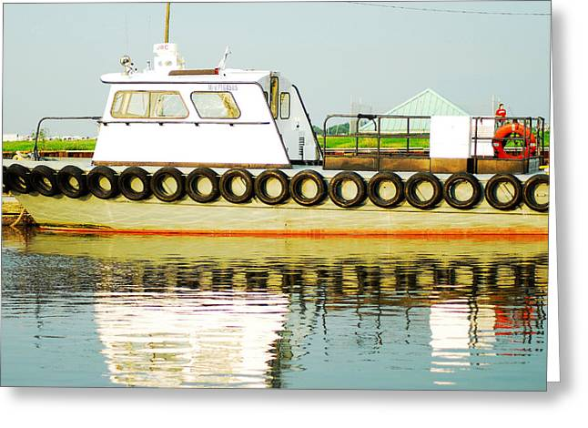 Eye4life Photography Greeting Cards - Tugboats Of New Orleans Greeting Card by Alicia Morales