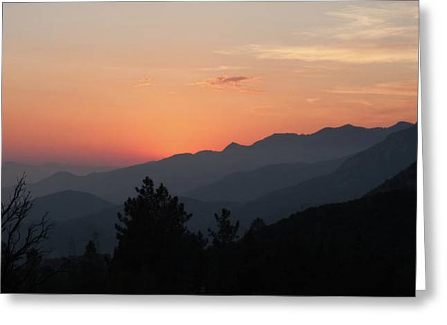 Angeles Forest Greeting Cards - Tujunga Canyon Greeting Card by Gilbert Artiaga