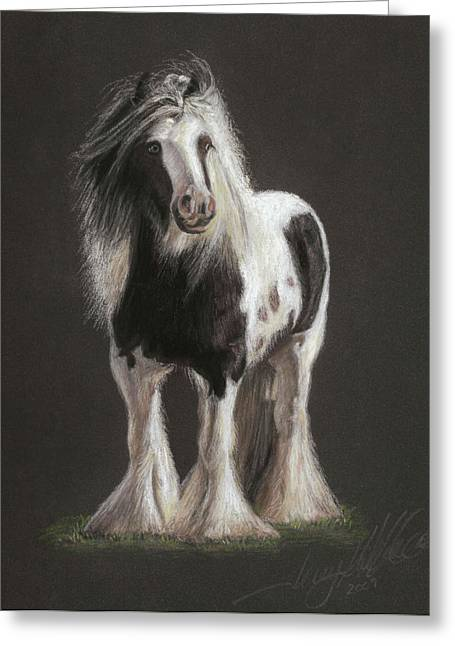 Stallion Pastels Greeting Cards - Tumbleweed Greeting Card by Terry Kirkland Cook