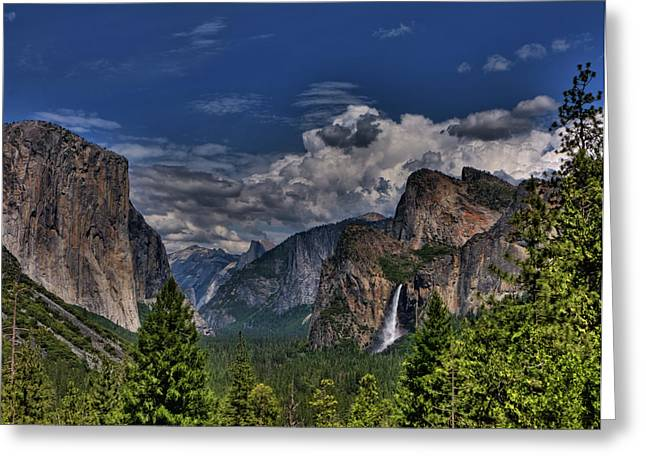 Tunnel View Greeting Cards - Tunnel View Greeting Card by Beth Sargent