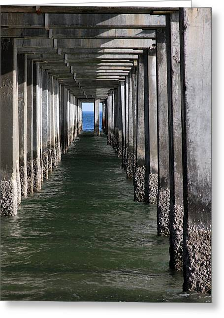 York Beach Greeting Cards - Tunnel Vision Greeting Card by Jeff Bord