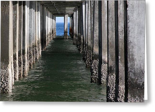 Tunnel Vision Greeting Card by Jeff Bord