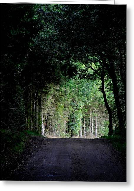 Recently Sold -  - Pause Greeting Cards - Tunnel Vision Greeting Card by Odd Jeppesen