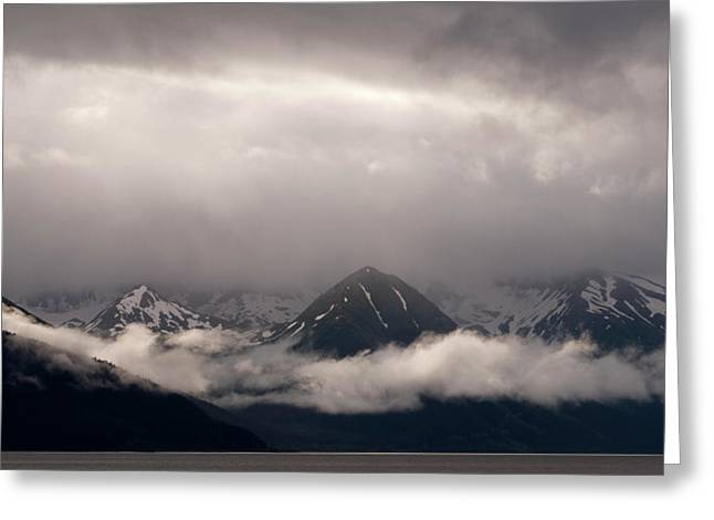 Most Photographs Greeting Cards - Turnagain arm Greeting Card by Andy-Kim Moeller