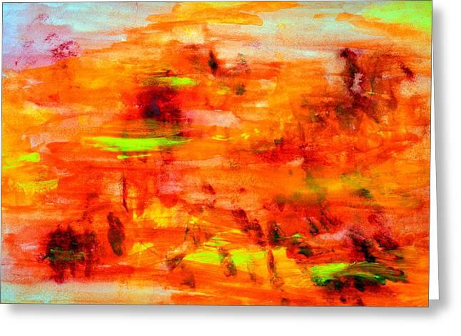 Tuscan Sun..... Greeting Card by Tanya Tanski