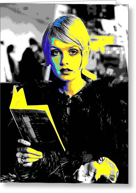 Best Sellers -  - Twiggy Greeting Cards - Twigs  Greeting Card by Chandler  Douglas