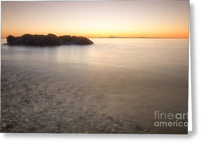 Washington Beauty Greeting Cards - Twilight on the Rocks Greeting Card by Idaho Scenic Images Linda Lantzy