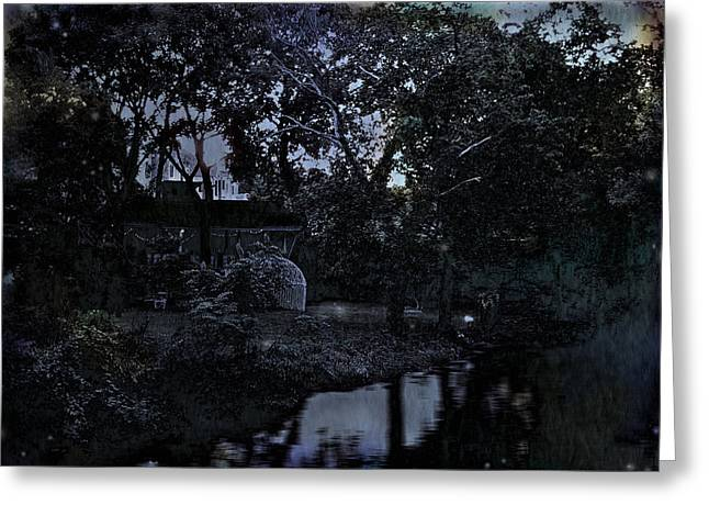 Original Art Photographs Greeting Cards - Twilight Past Greeting Card by Colleen Kammerer