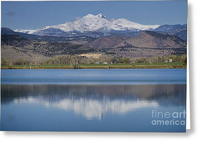 James Bo Insogna Greeting Cards - Twin Peaks McCall Reservoir Reflection Greeting Card by James BO  Insogna