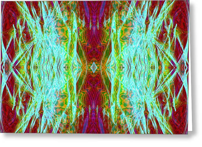 Two Fish Greeting Card by Danny Lally