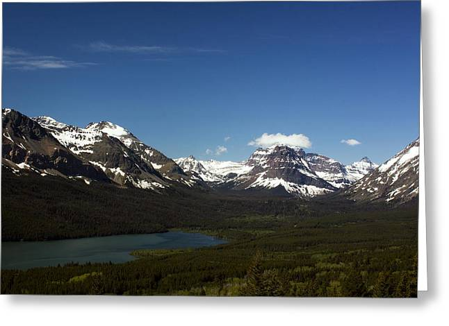 Montana Landscapes Photographs Greeting Cards - Two Medicine Greeting Card by Amanda Kiplinger