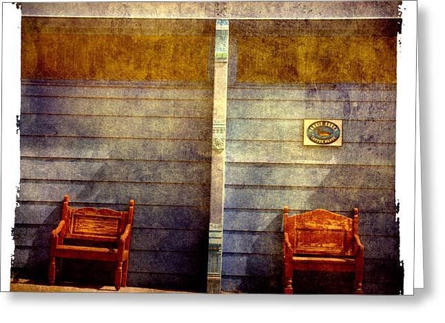 Silver City Greeting Cards - Two seats are still available Greeting Card by Susanne Van Hulst