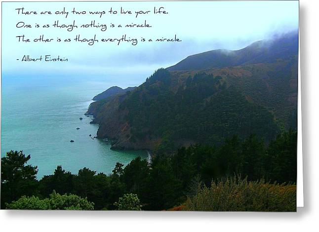 Motivational Poster Greeting Cards - Two Ways Greeting Card by Jen White