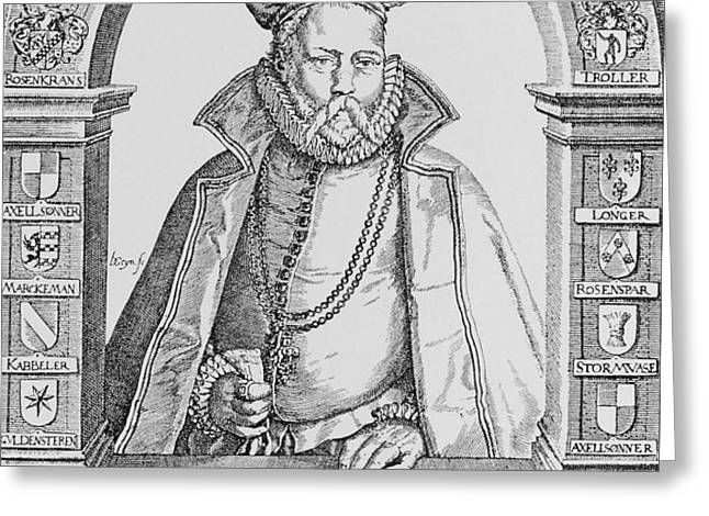 Tycho Brahe Greeting Card by Science, Industry & Business Librarynew York Public Library