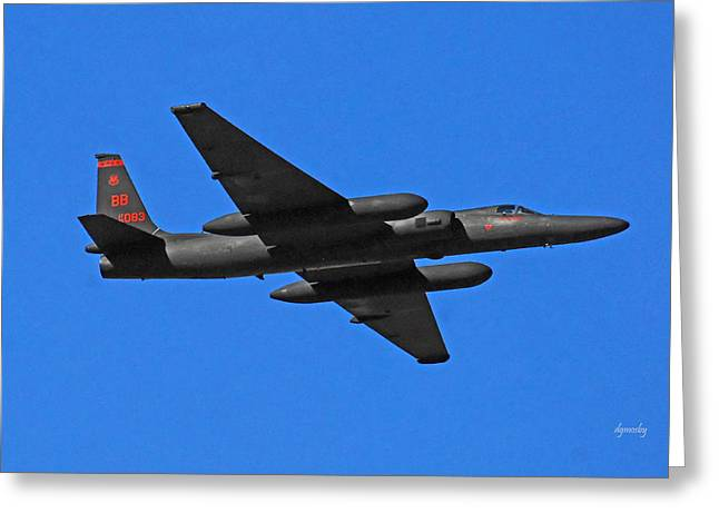 U-2 Flyover 3394 Greeting Card by David Mosby