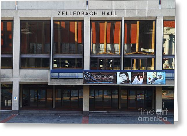 Uc California Greeting Cards - UC Berkeley . Zellerbach Hall . 7D9989 Greeting Card by Wingsdomain Art and Photography