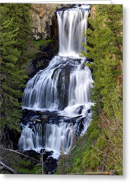 Marty Koch Photographs Greeting Cards - Udine Falls Greeting Card by Marty Koch