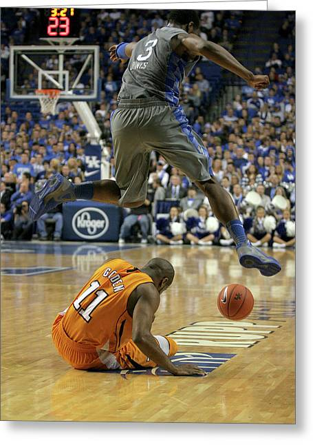 Sec Greeting Cards - Uk v. UT - 1 Greeting Card by Mark Boxley