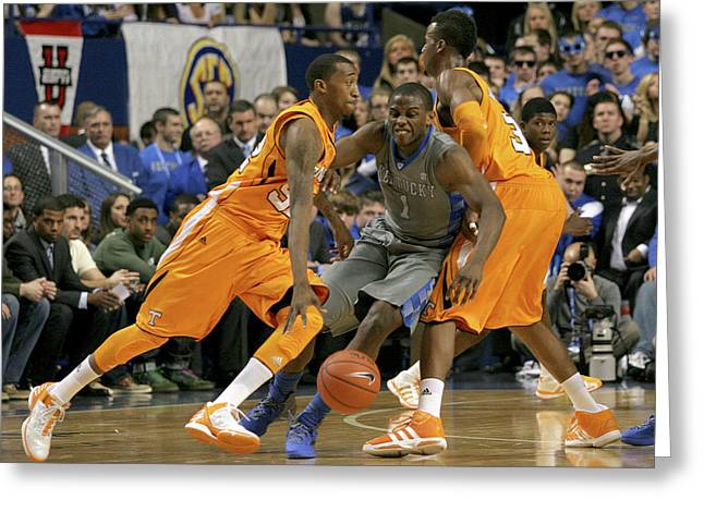 Sec Greeting Cards - UK v UT - 9 Greeting Card by Mark Boxley