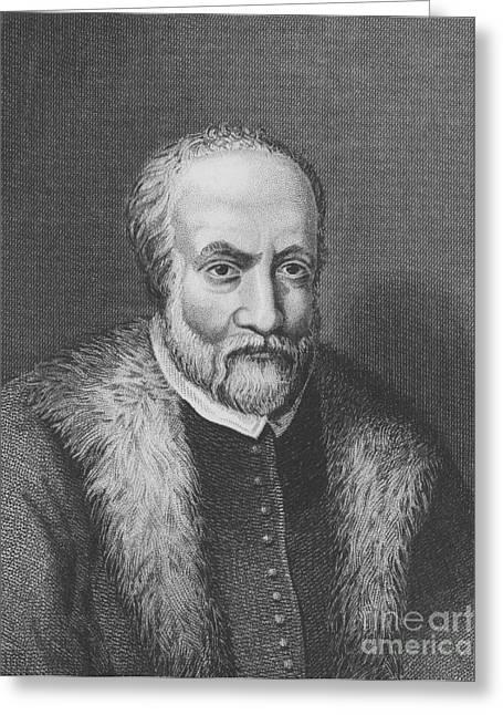 1574 Greeting Cards - Ulisse Aldrovandi, Italian Polymath Greeting Card by Science Source