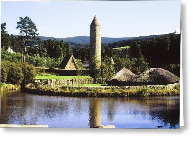 Monasticism Greeting Cards - Ulster History Park, Omagh, County Greeting Card by The Irish Image Collection