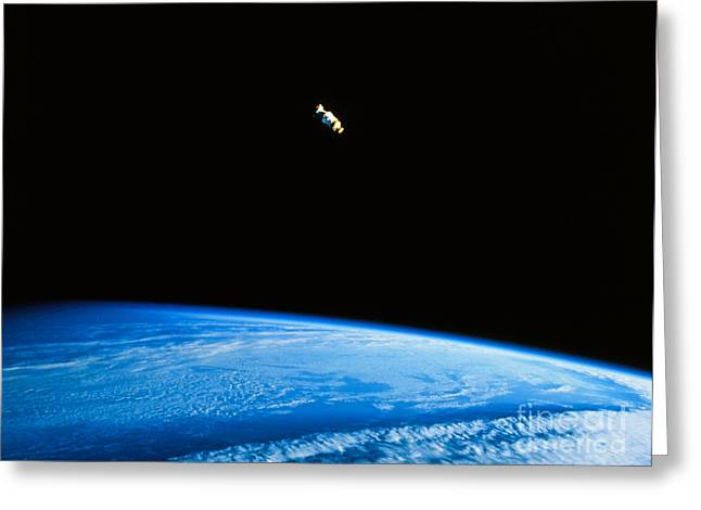 Astronomical Research Greeting Cards - Ulysses Craft After Release Greeting Card by NASA / Science Source