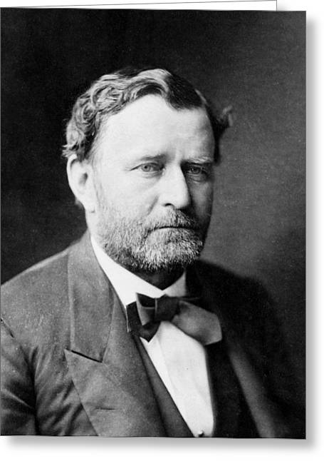 Outfit Greeting Cards - Ulysses S Grant - President of the United States of America Greeting Card by International  Images
