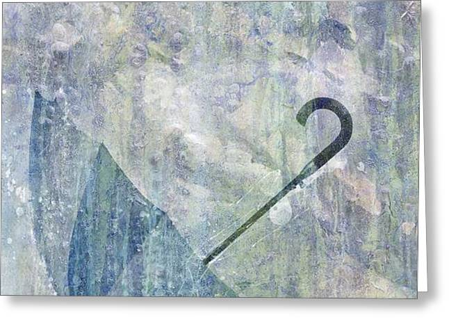 Umbrella Greeting Card by Brett Pfister