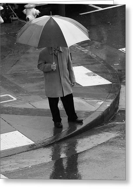 American Food Greeting Cards - Umbrella Day Greeting Card by Aidan Moran