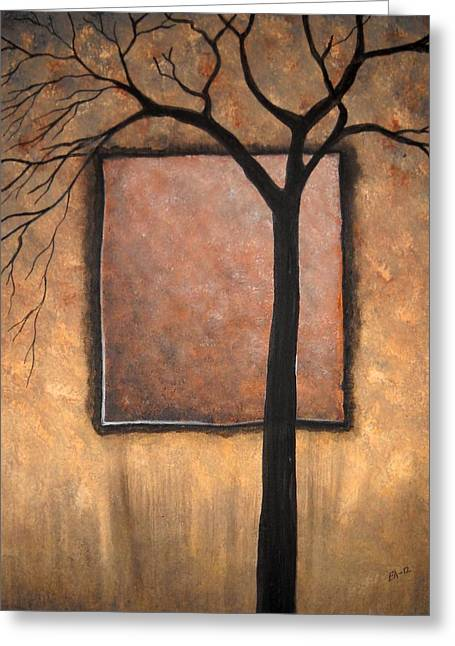 Edwin Alverio Greeting Cards - Uncompleted Shadows Greeting Card by Edwin Alverio