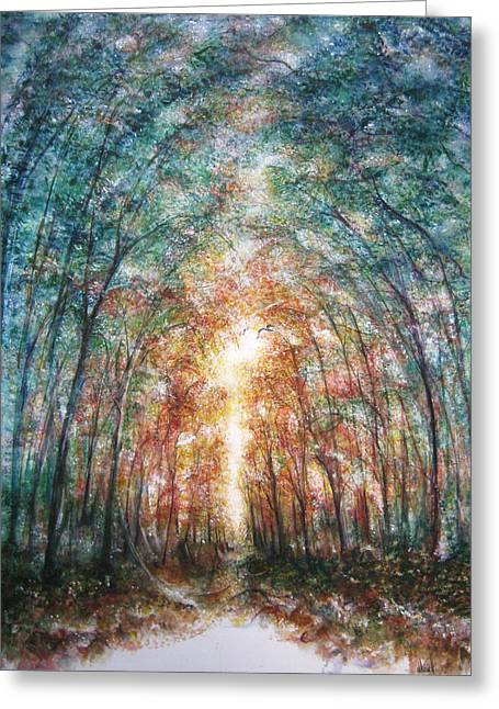 Under Heaven Greeting Card by NHowell