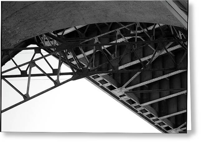 Sixth Greeting Cards - Under the 6th Street Bridge Greeting Card by Kevin  Break