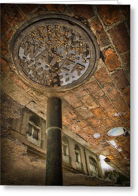 Grate Greeting Cards - Under the bridge Greeting Card by Russell Styles